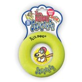 Air Squeaker Green Donut Dog Toy