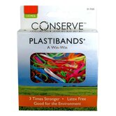 PlastiBands, Assorted Sizes, 100/BX, Assorted