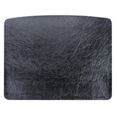 Desk Pad, 19-3/4&quot;x24-3/4&quot;, Black