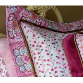 Modern Vintage Girl Pillow Sham