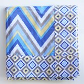Ikat Chevron Spill Mat