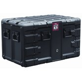 "Box 9U Rack Mount Case: 21.9"" x 38.5"" x 24.6"""