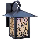 Timber Ridge Outdoor Wall Lantern with Ashbury Filigree
