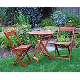 3 Piece Bistro Set