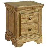 Loire 2 Drawer Bedside Table