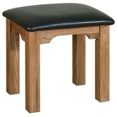 Toulouse Stool in Medium Oak Stain and Satin Lacquer