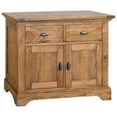 Toulouse Small Sideboard in Medium Oak Stain and Satin Lacquer