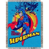 Entertainment Tapestry Throw Blanket - Superman Smash