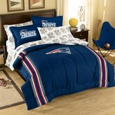 NFL New England Patriots Bed in Bag Set