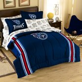 NFL Tennessee Titans Embroidered Twin / Full Comforter Set