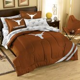 Collegiate Texas Twin / Full Comforter Set