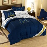 Collegiate Michigan Twin / Full Comforter Set
