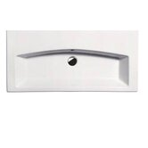 "GSI 35.4"" x 16.5"" Losagna Flat 90 Bathroom Sink in White"