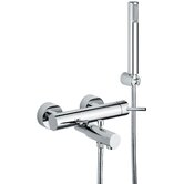 Linea Wall Mount Volume Control Hand Shower Set