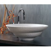 Ceramica 17.9&quot; x 17.9&quot; Vessel Sink in White