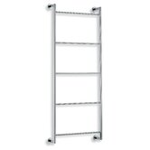 "Baketo 17.3"" x 35.4"" Towel Rack in Polished Chrome"