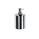 "Complements 3.2"" x 3.2"" Saon Soap Dispenser in Stainless Steel"