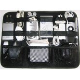 Adventure Gadget Organizer in Black