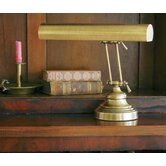 Advent Piano Lamp in Antique Brass