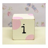 &quot;i&quot; Letter Block in Pink
