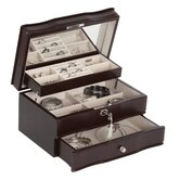Davina Locking Jewelry Box