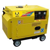 6500 Watt Diesel Generator with Wheel Kit and Electric Start