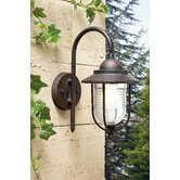 Sirena Wall Lantern in Brown