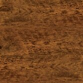 "Solidity 40 Handscraped Plank 6"" Vinyl Plank in Aged Chestnut"