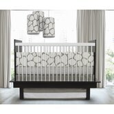 Cobblestone 3 Piece Crib Set in Taupe
