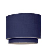 Wheels Stripe Double Cylinder Light in Cobalt Blue