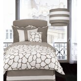 Cobblestone Bedding Collection in Taupe