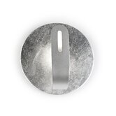 Traç Wall Light in Silver Leaf