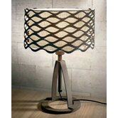Alsacia Console Lamp in Rusty Brown