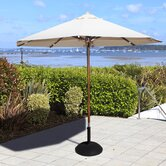 2m Patio Crank Parasol in Khaki
