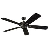 60&quot;  Cyclone 5 Blade Outdoor Ceiling Fan
