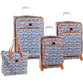 Baby Hearts 4 Piece Luggage Set
