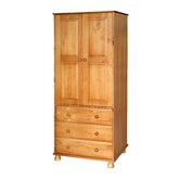 Sheraton 3 Drawer Wardrobe