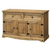 Corona Medium Sideboard in Solid Pine