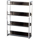 Boston Four Shelf Bookcase/Display Unit in Black
