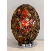 Mosaic Glass Giant Egg Lamp