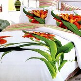 Tiger Lily 6 Piece Full / Queen Duvet Cover Bedding Set