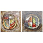 Hilts Canvas Wall Art (Set of 2)