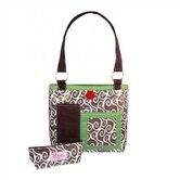 Latte Swirls Rooster Toddler Tote Diaper Bag