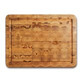 12&quot; x 16&quot; Rectangular Chopping Block with Hand Grip and Juice Canal