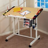 Deluxe Station Craft Wood Drafting Table