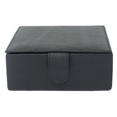Multi-Use Small Leather Box