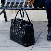 Classic Patent Diaper Bag