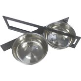 Lucky Dog Turn-Style 2 Pet Bowl System