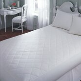 Cotton Mattress Pad in White