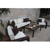 Clima 4 Piece Deep Seating Group with Cushions